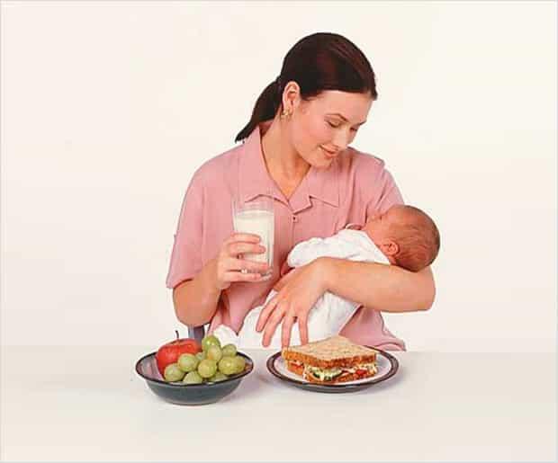 Диета для похудения кормящих женщин